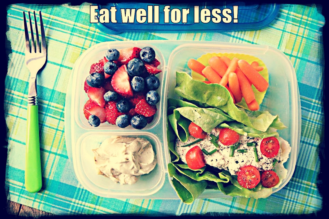 eat well for less and save a lot of money