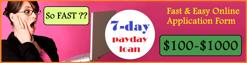 7 Day Payday Loan Online