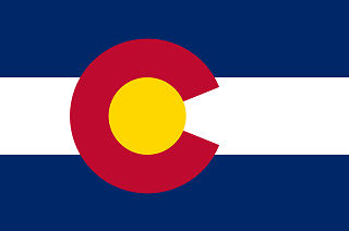 Flag of Colorado, USA