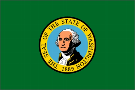 Flag of Washington, USA
