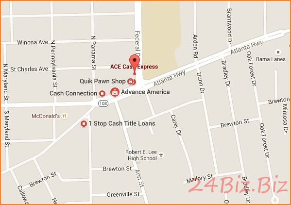 offline cash advance loan store montgomery al usa
