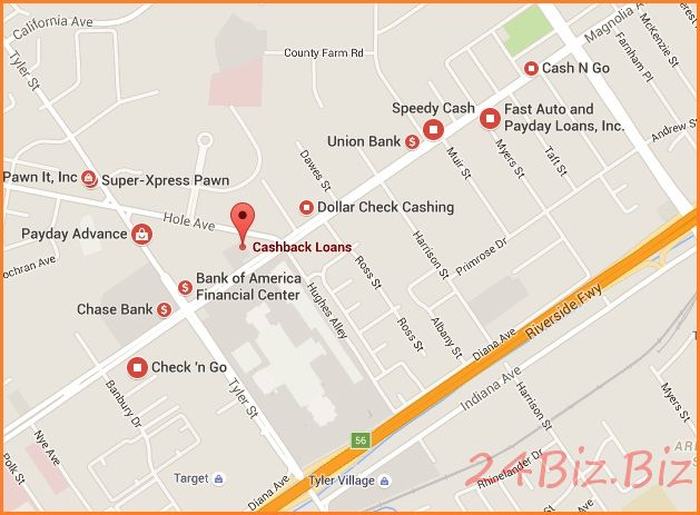 offline cash advance loan store riverside ca usa