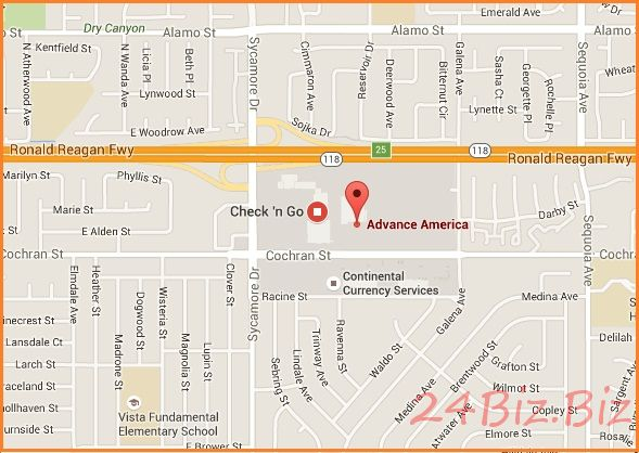 offline cash advance loan store simi valley ca usa