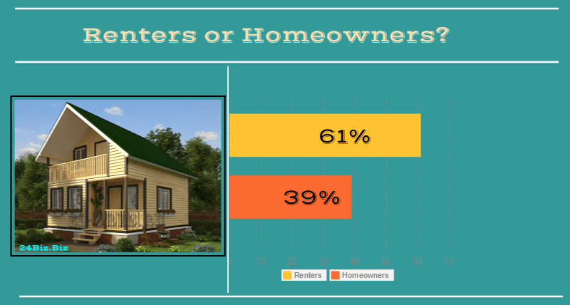 borrowers in Colorado USA renters or homeowners