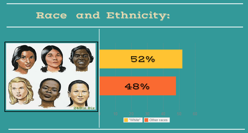 race and ethnicity of payday loan borrower in Texas USA